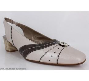 Chaussures femme Hasley ECU Ecru