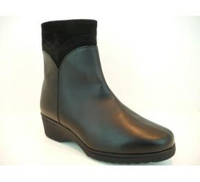 Boots femme fourrés Ombelle RURAL Noir