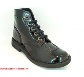 Bottines femme Kickers - KICK COLOR Noir