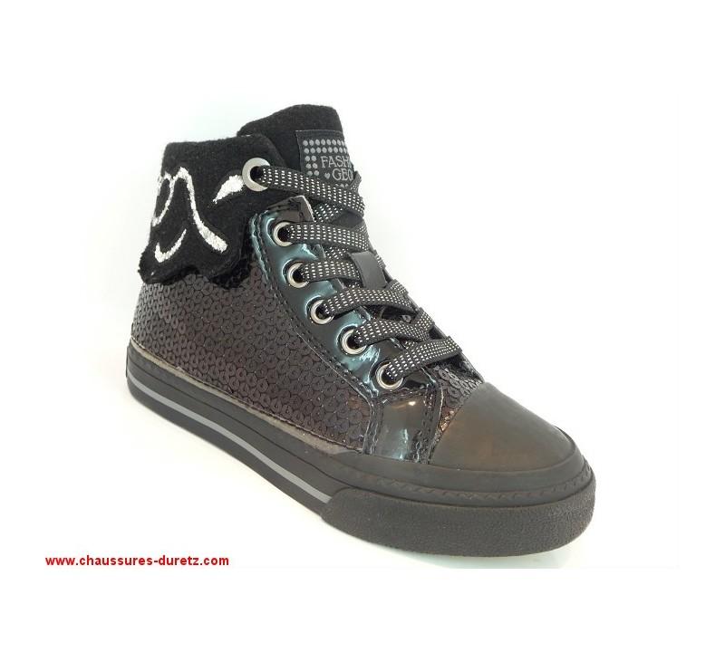 Geox Chaussures Boots amp; Paillettes Pour G Bottines Movie Noir zqrWdwfXqA
