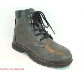 Bottines garçon Géox WILLIAMS Gris