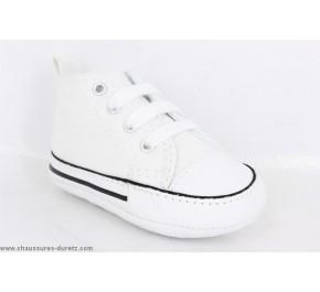 Chaussures bébés Converse FIRST STAR Blanc