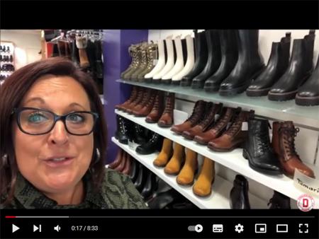 Nouvelle Vidéo de Présentation de nos Nouveautés Automne-Hiver 2021/2022 pour Femme avec la Nouvelle Collection TAMARIS